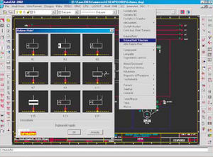 Electric CAD software / mechanical CAD