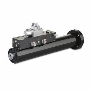Hydraulic actuator / linear / double-acting