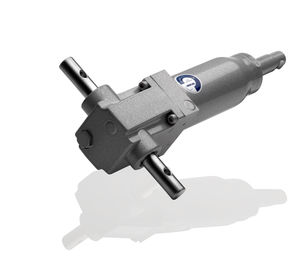 Hydraulic actuator / linear / single-acting / compact