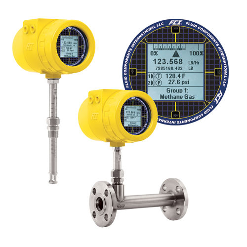 mass flow meter / thermal / for gas / high-accuracy