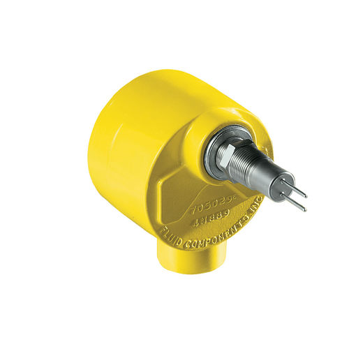 thermal level switch / for water / high-temperature / insertion