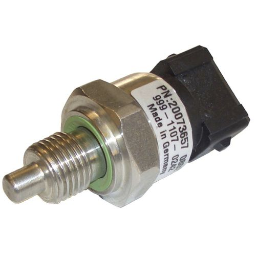 Pt100 temperature sensor / thin-film / threaded / stainless steel