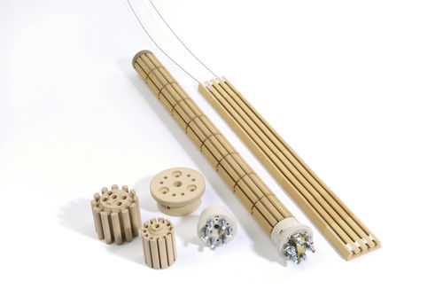tubular heating element / ceramic