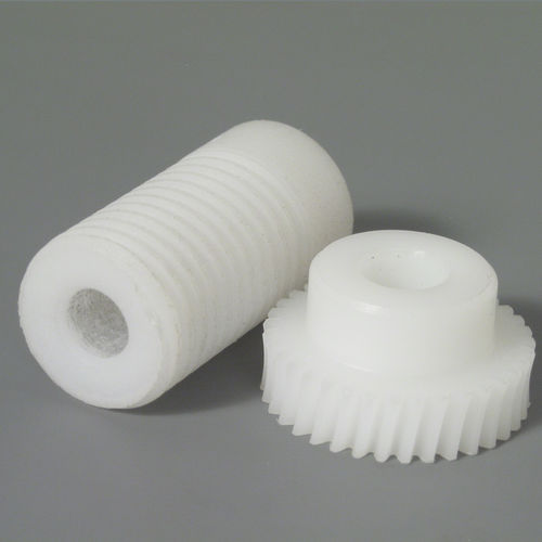 worm gear / helical-toothed / wheel / hub