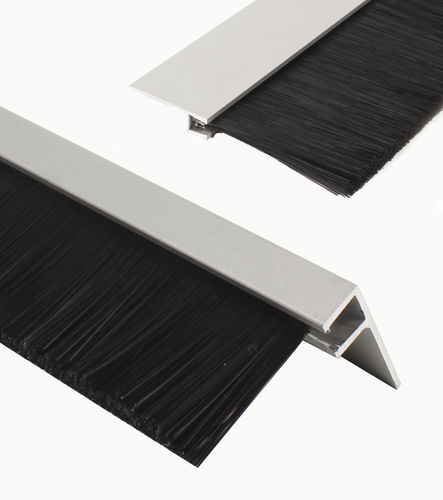 strip brush / sealing / aluminum