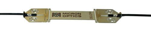 strain gauge with fiber Bragg grating / single-axis