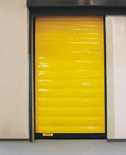 roll-up door / fabric / PVC / for cold storage