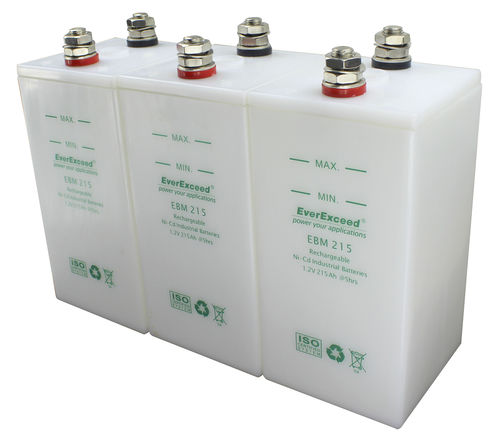 Ni-Cd battery / stationary / CE / IEC EBM series EverExceed Industrial Co. Ltd