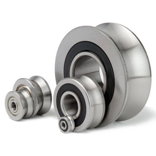 guide roller / stainless steel / for sliding doors / ball bearing
