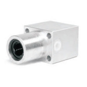 linear ball bearing / flange-mount