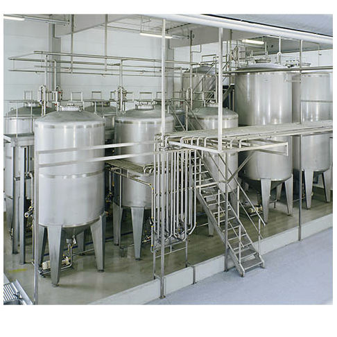 water vessel / stainless steel / pressure / for pharmaceutical applications