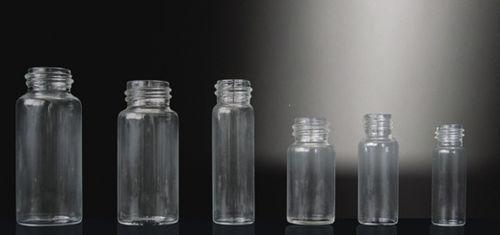 flat-bottom vial / borosilicate glass