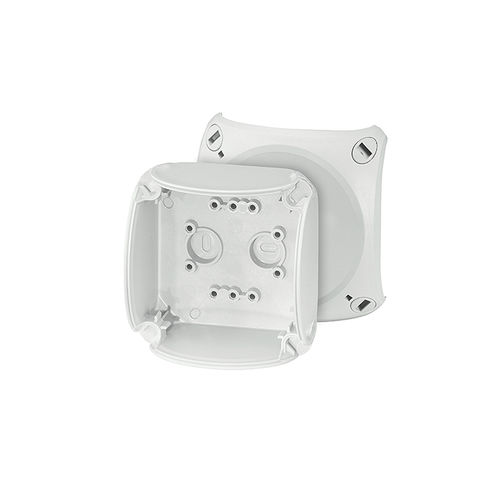 surface mounted junction box / weather-resistant / polycarbonate / with knockouts
