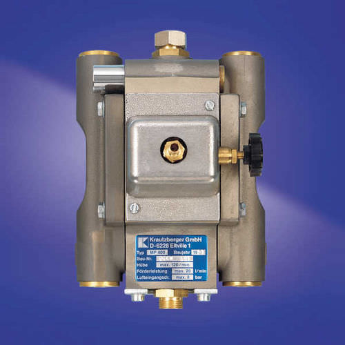 diaphragm pump / paint / for solvents / for adhesives