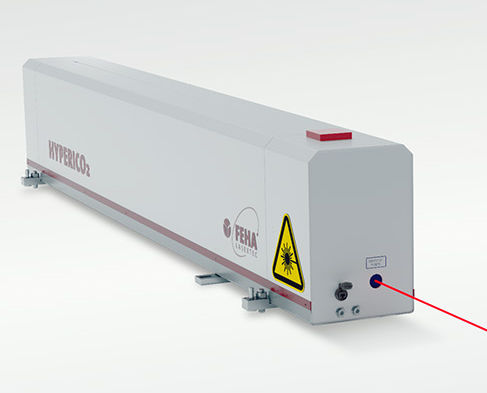 pulsed laser / continuous wave / gas / infrared
