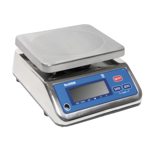 benchtop scale / with LCD display / stainless steel / IP65