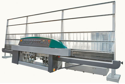 surface grinding machine / for metal sheets / glass / PLC-controlled