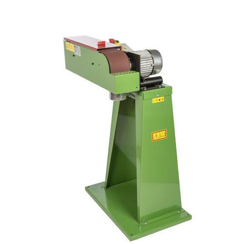 electric sander / belt / vertical / heavy-duty