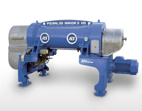centrifugal decanter / horizontal / industrial