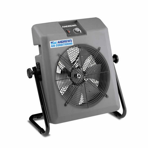 floor-standing fan / axial / cooling / with external rotor