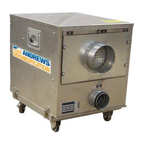 desiccant dehumidifier / mobile / air