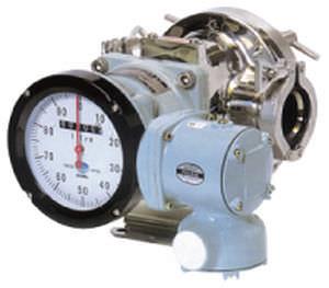 positive displacement flow meter / for liquids / in-line