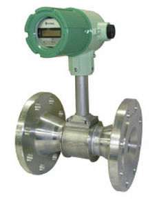 vortex flow meter / for gas / in-line