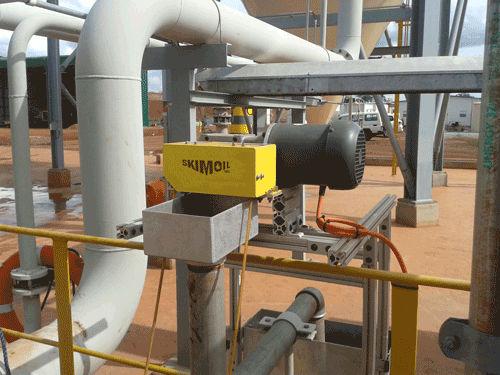 Tube oil separator S01GB  skimoil inc.