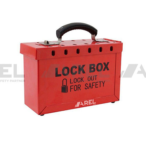 handheld box / rectangular / metal / lockable