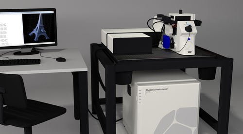 3D laser lithography system - Nanoscribe