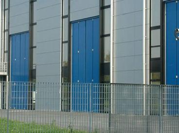 folding door / hangar / industrial / large