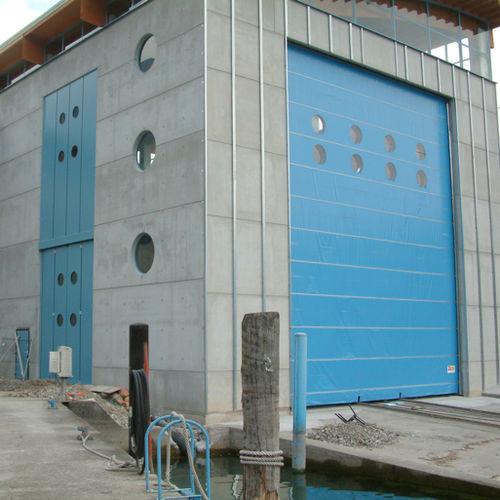 fold-up door / PVC / hangar / industrial