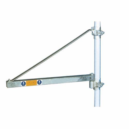 pillar jib crane / overbraced
