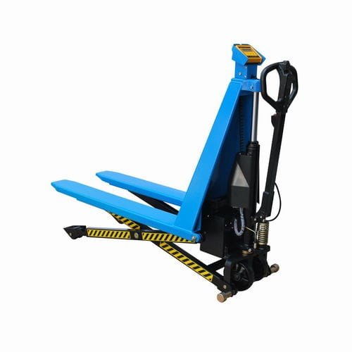 hand pallet truck / hydraulic / multifunction / scale