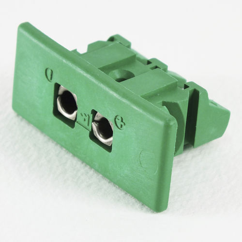 data connector / rectangular / female / built-in