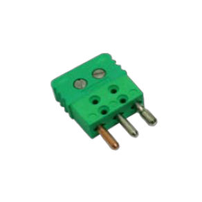 electrical power supply connector / parallel / male / for thermocouples