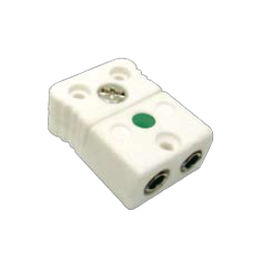 electrical power supply connector / IEC C7 / female / ceramic
