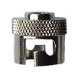 knurled nut / stainless steel / bayonet lock coupling