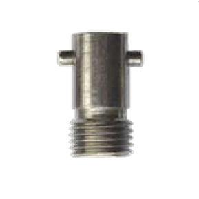 screw-in fitting / straight / hydraulic