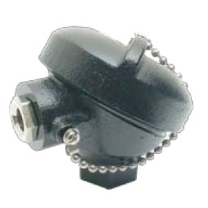 cast iron connection head / for temperature sensors / IP68