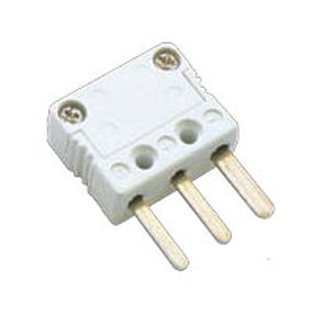 electrical power supply connector / IEC C7 / male / 3-pole