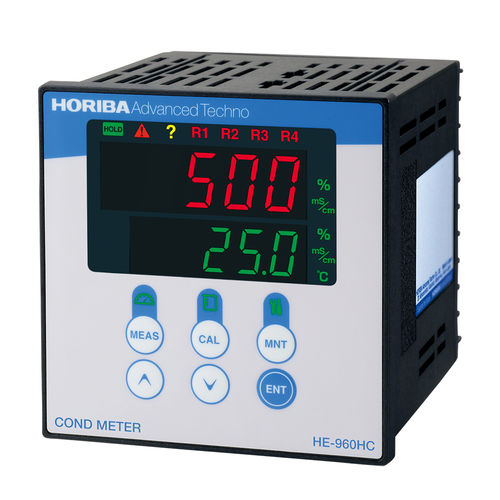 bench-top conductivity meter / process
