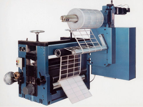 die cutting machine / CNC / rotary operated / precision