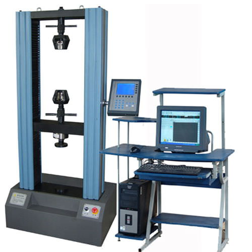 tension testing machine / vertical / electromechanical