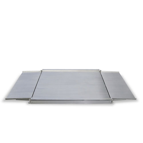 low-profile platform scale / with separate indicator / stainless steel / four-cell