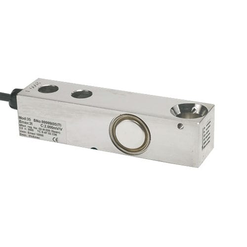 shear beam load cell / beam type / stainless steel / hermetic