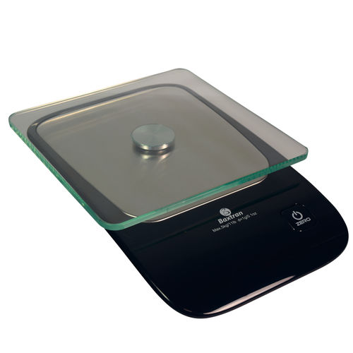 benchtop scale / with LED display / battery-powered / food