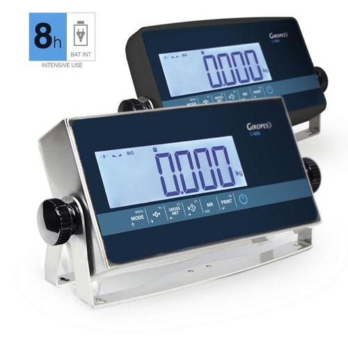 LCD display weight indicator - GIROPES