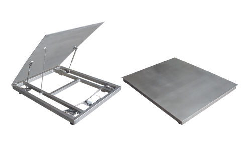 Platform scale / with separate indicator / stainless steel WPL GIROPES