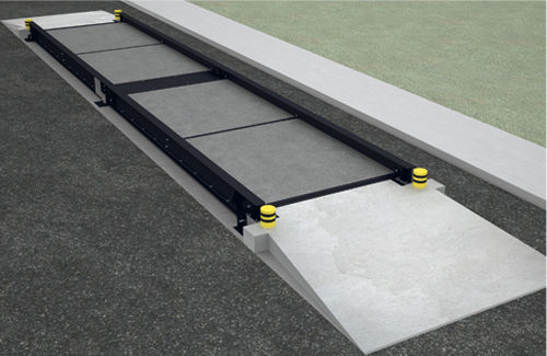 Concrete weighbridge / for vehicles BPGSH GIROPES